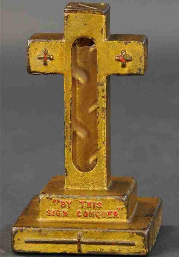 spielzeug metall kreuz by this sign conquer david c cook product