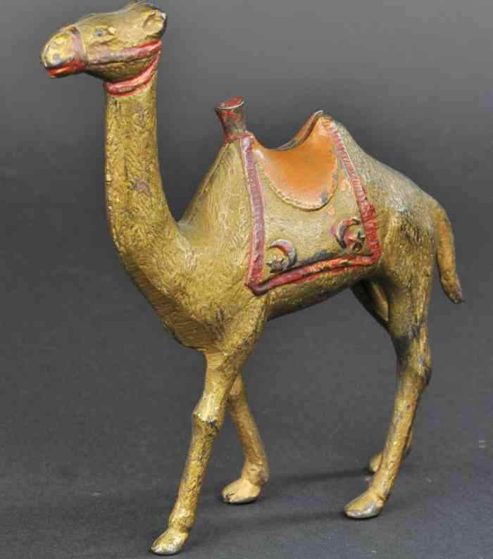 williams ac cast iron toy large camel still bank