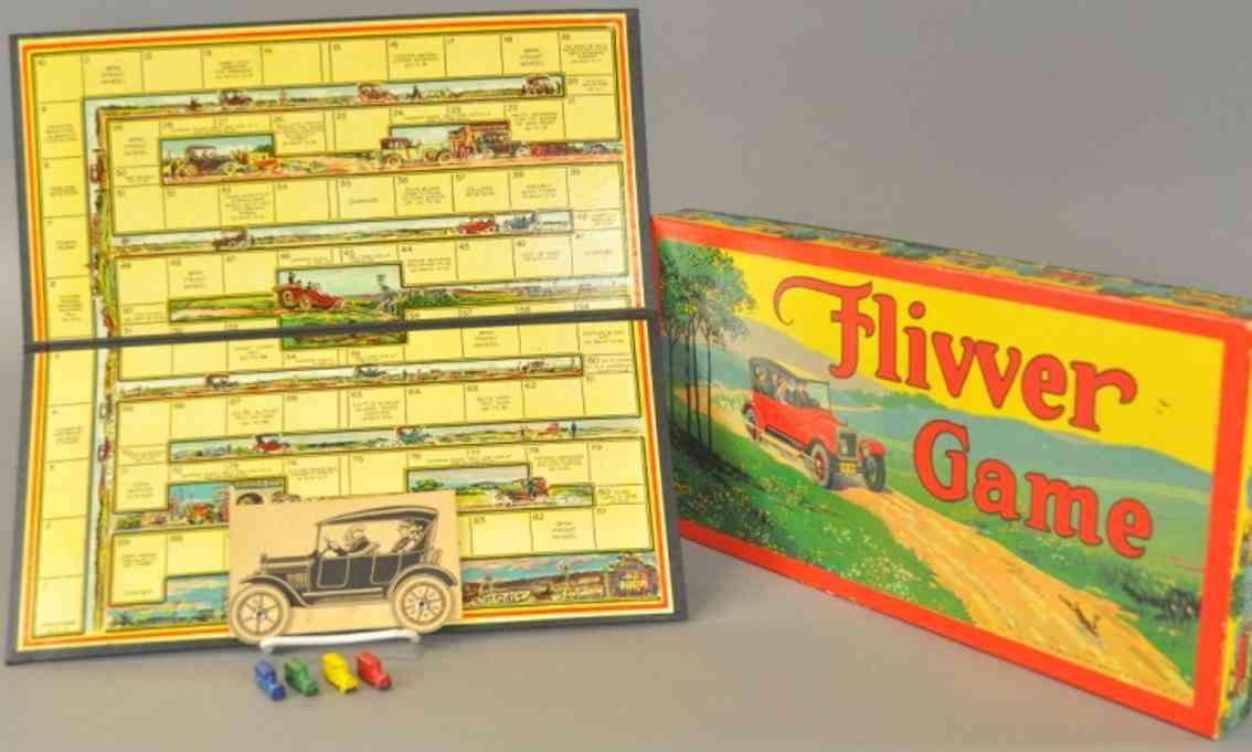 bradley milton board game flivver game four buses