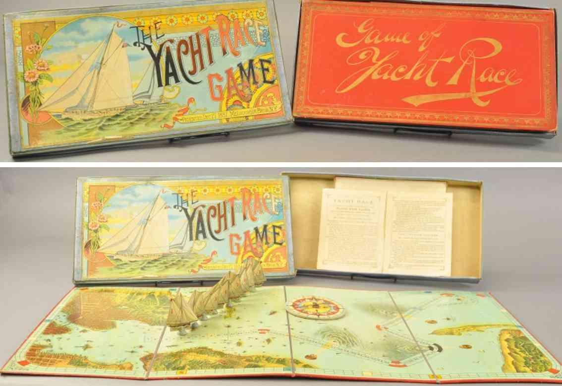 mcloughlin brothers gesellschaftsspiel das schiffsrennenspiel