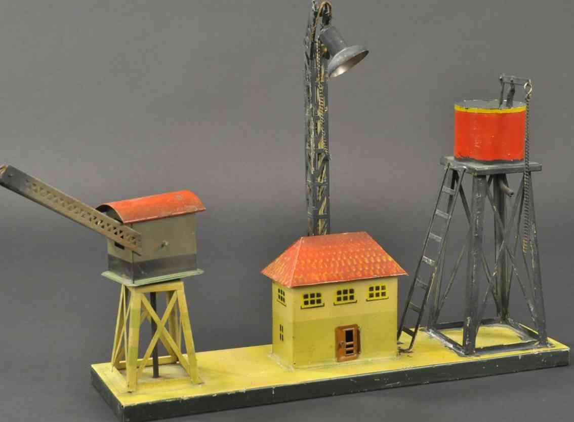 kibri 57/30 kran stellwerkhaus wasserturm gittermast-bogenlampe