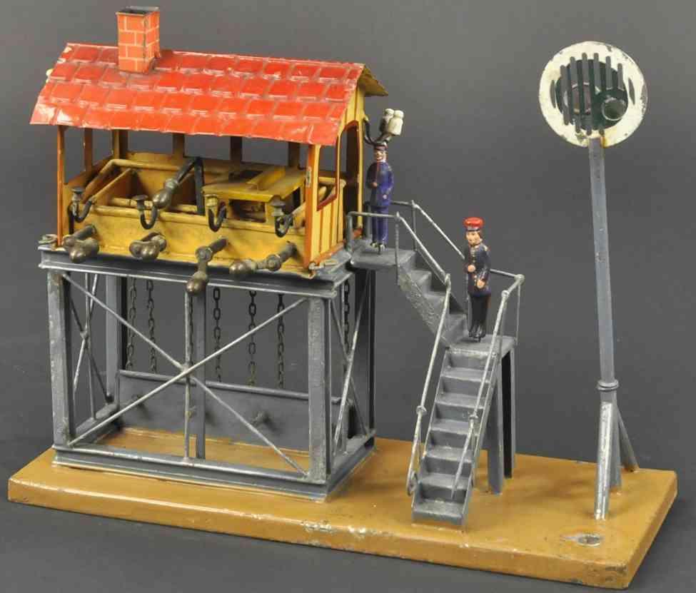 maerklin 2111 eisenbahn stellwerk treppe signal laeutewerk