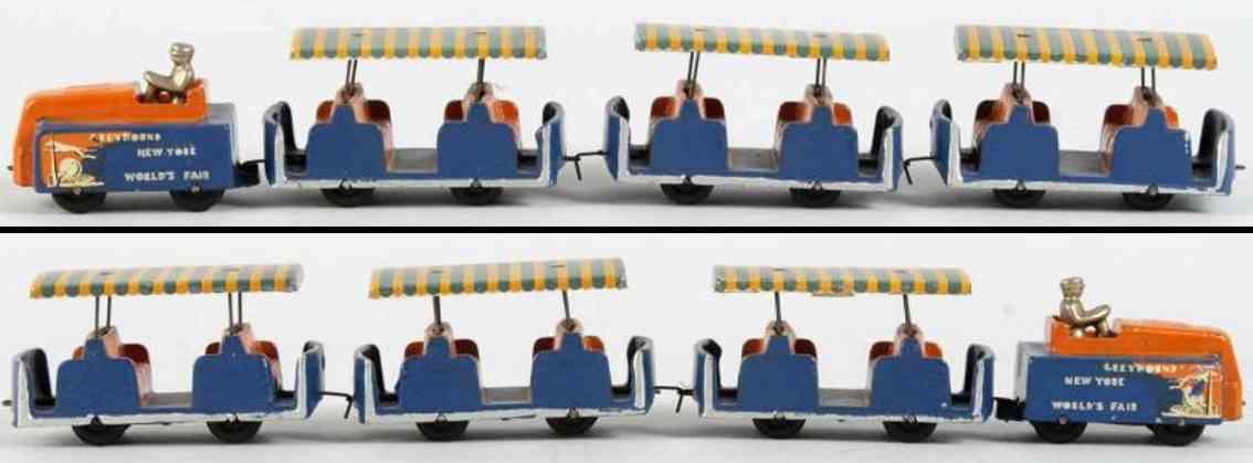 Arcade Ney York Straßenbahn zur Weltausstellung