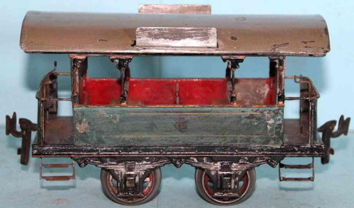 carette 1090/3 blech strassenbahn offener sommerwagen