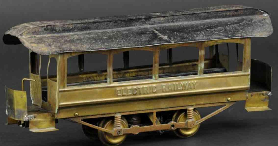 carlisle & finch  toy tram electric railway trolley power unit