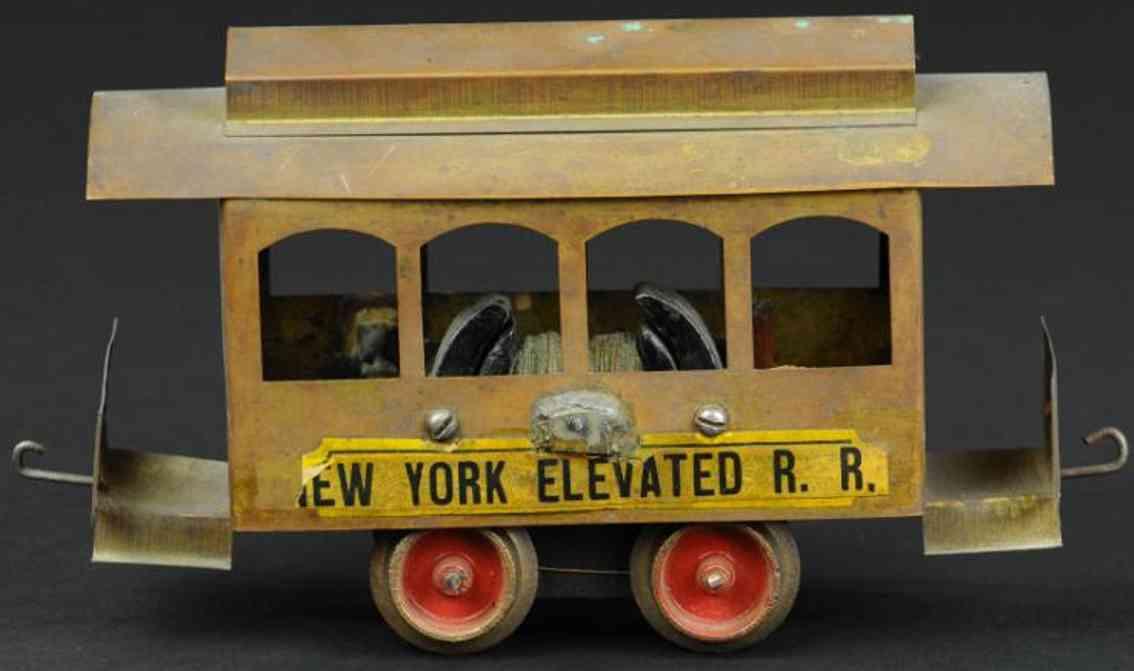 carlisle & finch spielzeug strassenbahn new york