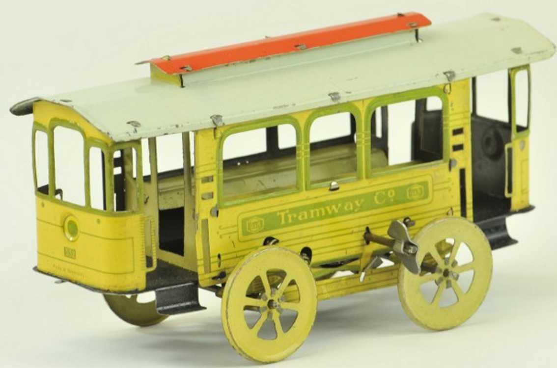 Greppert & Kelch Tram Trolley