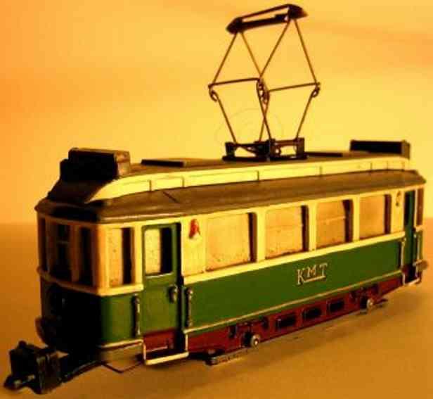 Hamo T 206 Straßenbahn-Triebwagen KMT