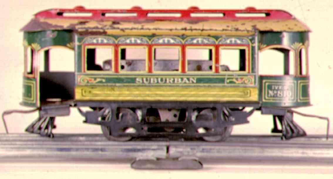 Ives 810 Clockwork trolley