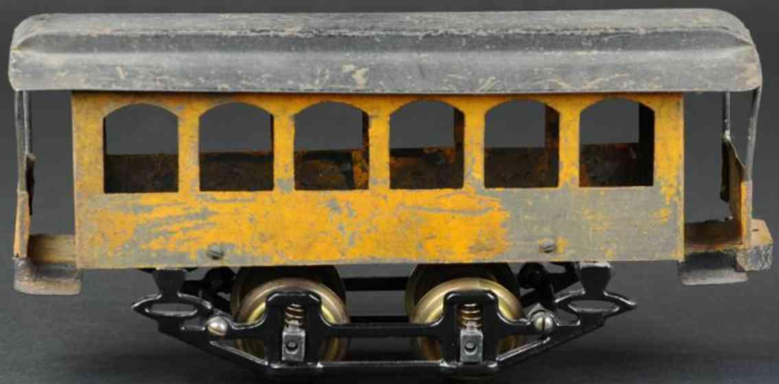 knapp electric and novelty company blech strassenbahn-anhaenger spur II