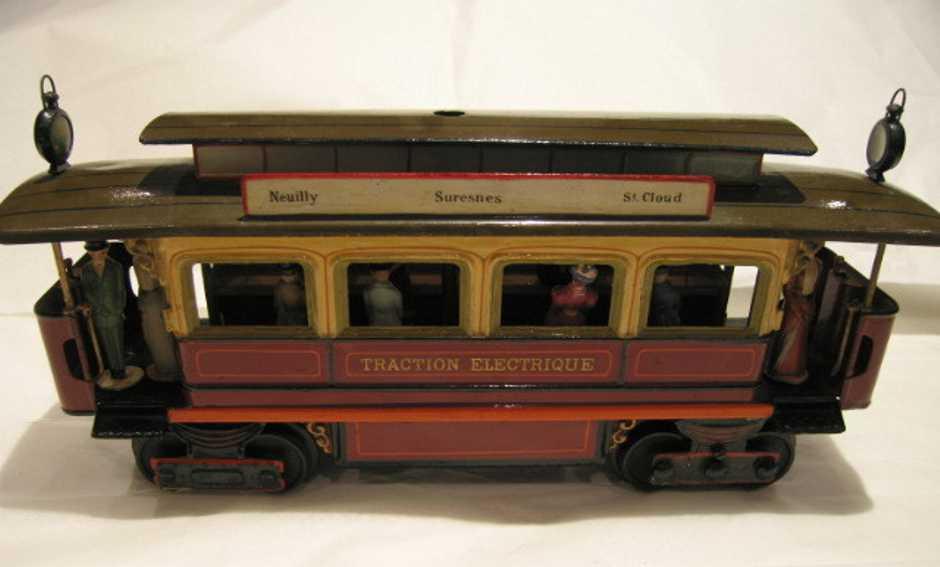 maerklin w 2331 1081 blech spielzeug franzoesische strassenbahn
