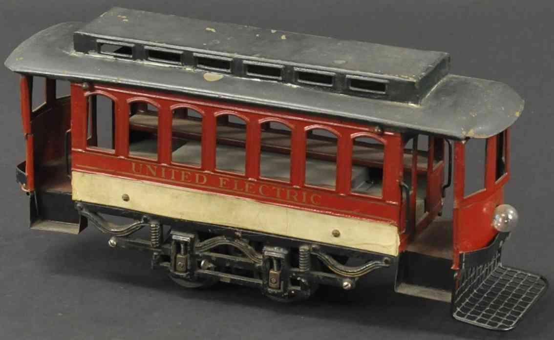 voltamp 2120 blech spielzeug strassenbahn der zweiten serie