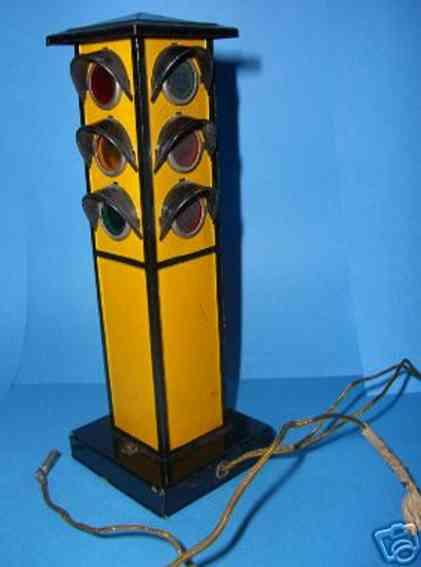 maerklin 13459 blech spielzeug elektrische verkehrsampel viereckig
