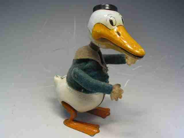 schuco 500 blech tanzfigur donald duck