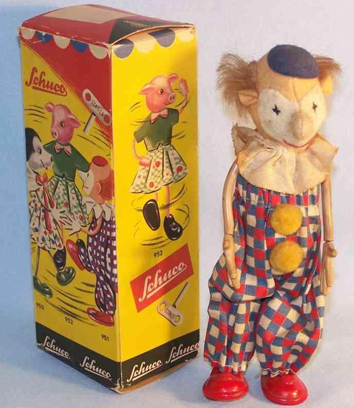 Schuco 951 Bending dance figure clown