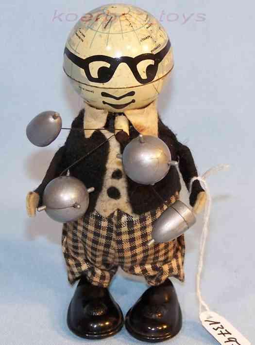 schuco 967 tin dance figure mister atom