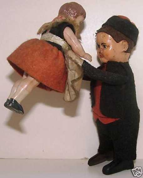 schuco 979 tin dance figure dutch man as a dancing couple