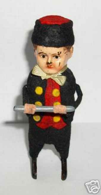 Schuco 979/3 Dance Figure Dutch man with flute and clockwork