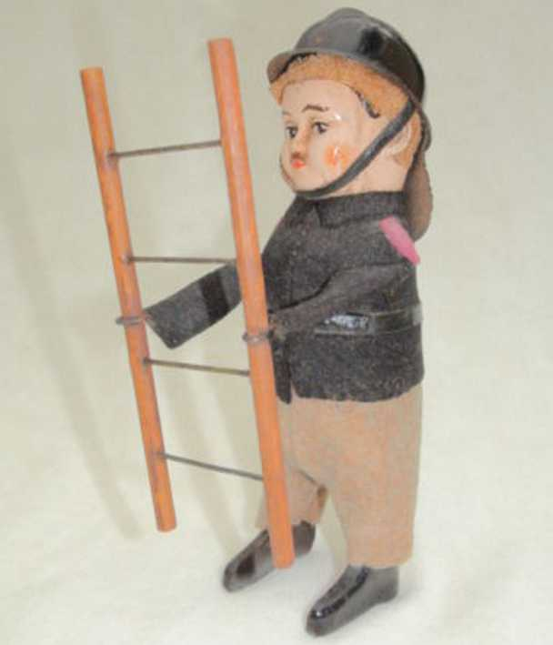 schuco 997/7 dance figure firefighter with ladder