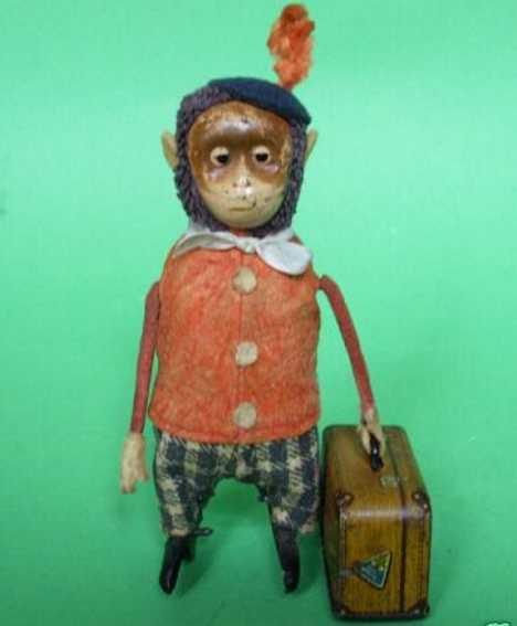 Schuco Dance Figure Monkey with case