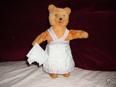 Schuco Tanzfigur Teddybär Dame