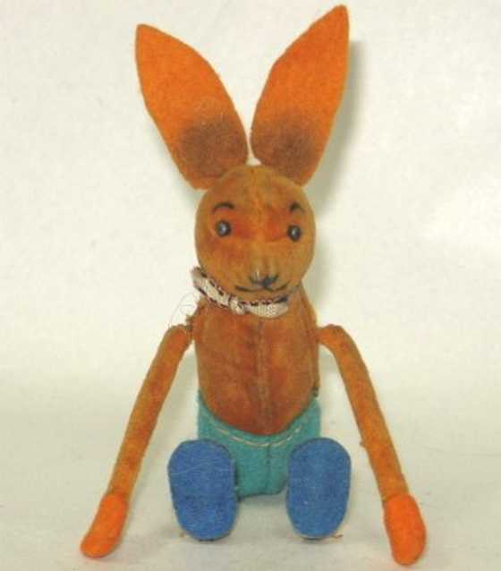 Schuco Tanzfigur Hase mit Uhrwer´k