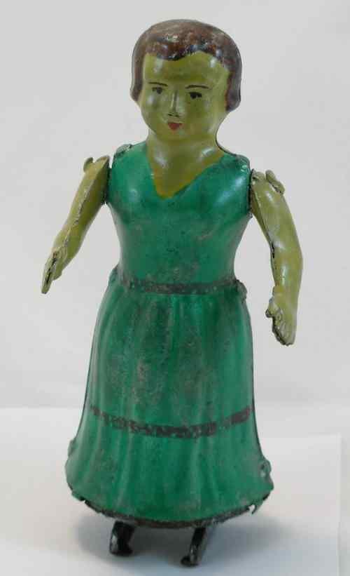 tin dancing figure Issmayer
