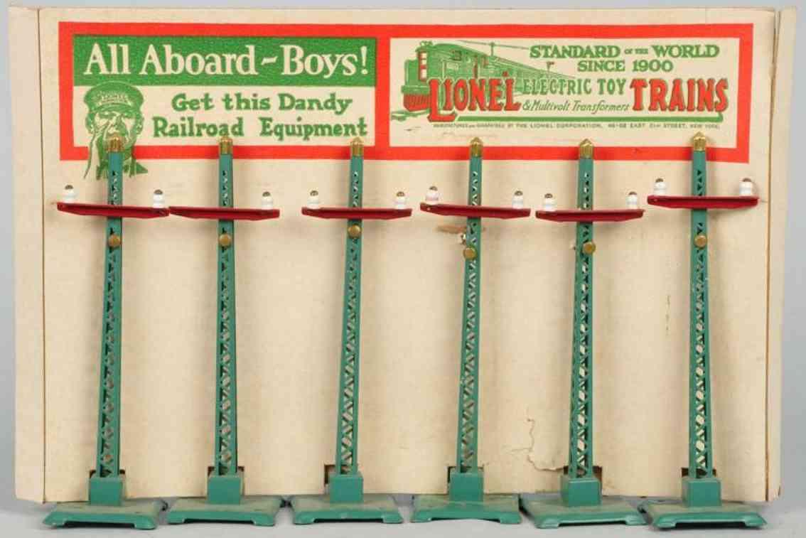 Lionel 71 Telegraph poles