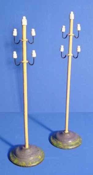 maerklin 2401 2054 spielzeug eisenbahn telegrafenmast braun isolatoren