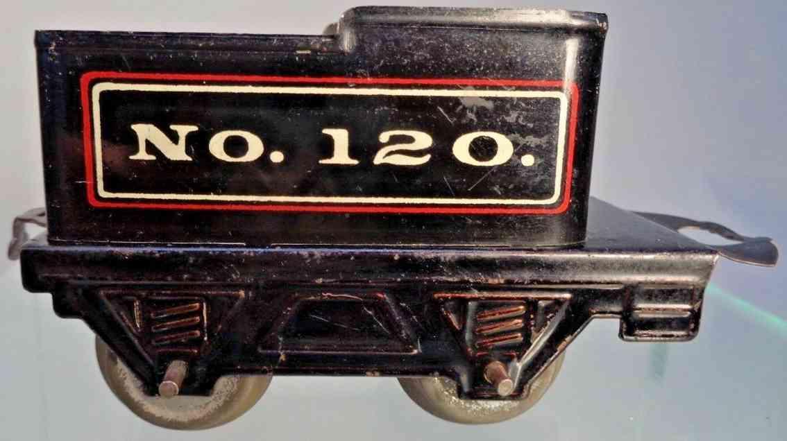 american flyer toy company 120 railway toy tender gauge 0