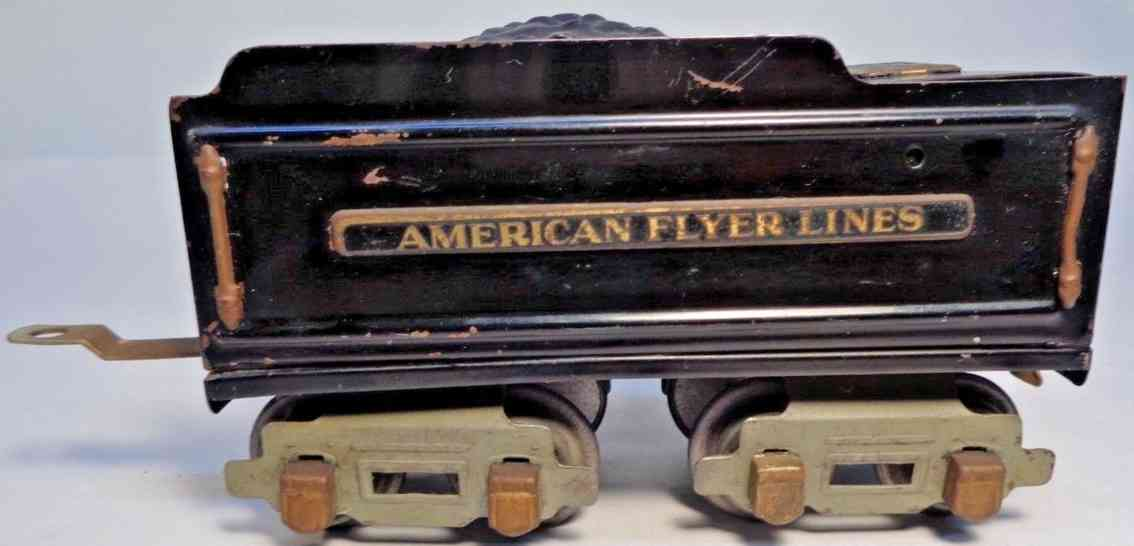 american flyer toy company 3199 spielzeug eisenbahn tender schwarz spur 0