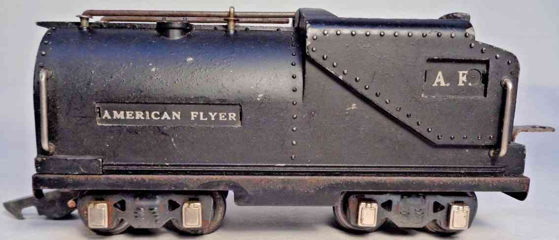 american flyer toy company 426 railway toy tender vanderbilt oil tender black gauge 0