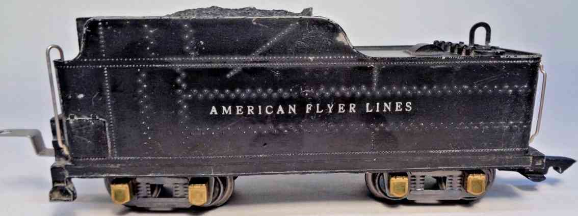 american flyer toy company 433a railway toy tender black die-cast