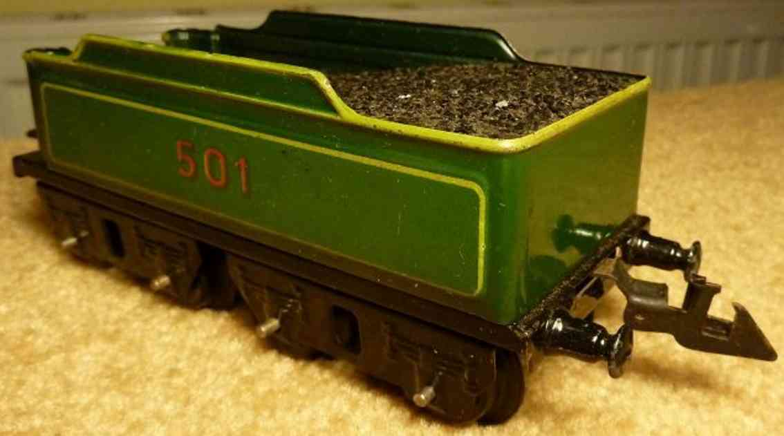 doll 501 railway toy tender tender; 4-axis