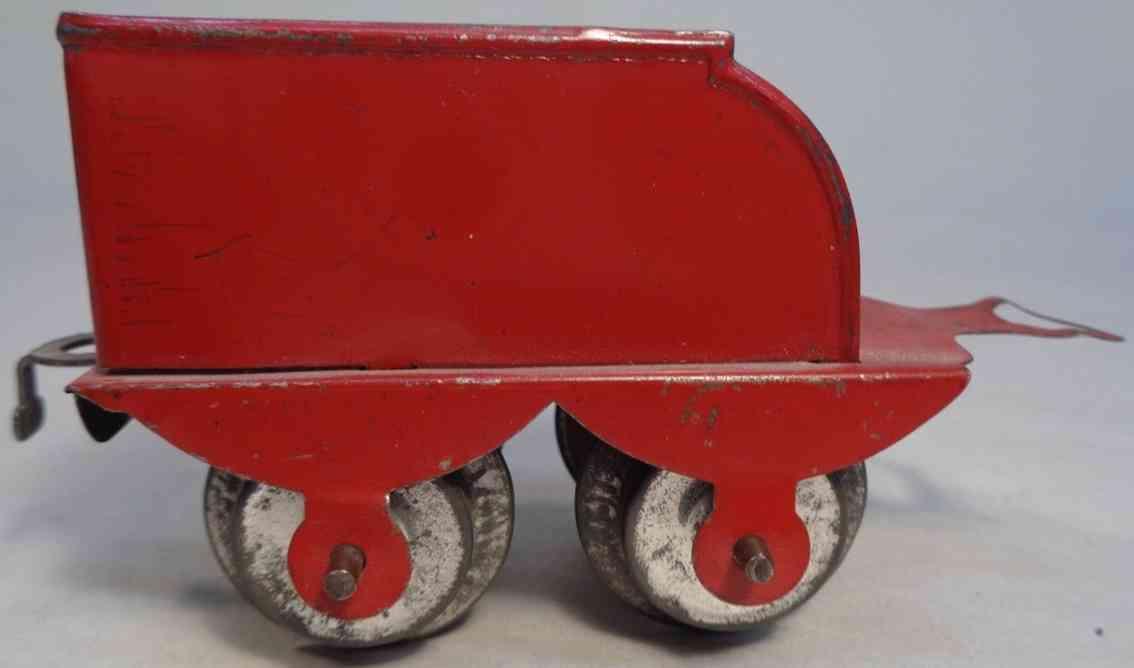 hafner 1180 spielzeug eisenbahn ueberland-tender rot spur 0
