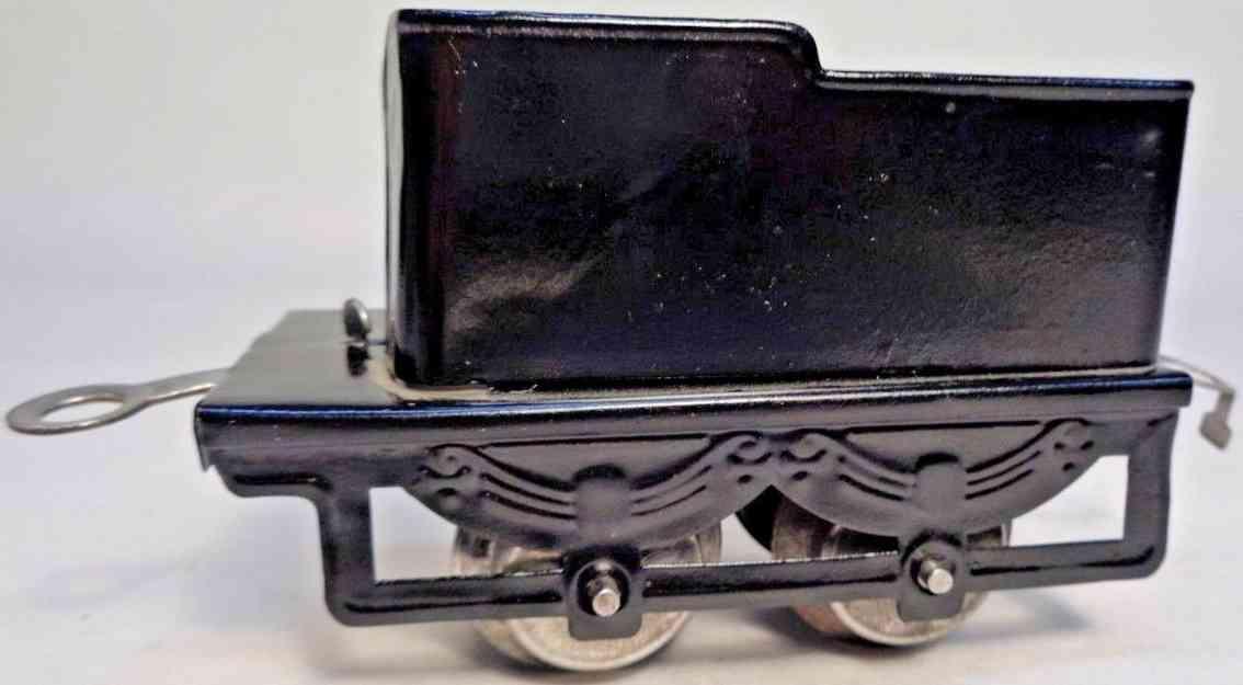 hafner 1190 railway toy tender black gauge 0