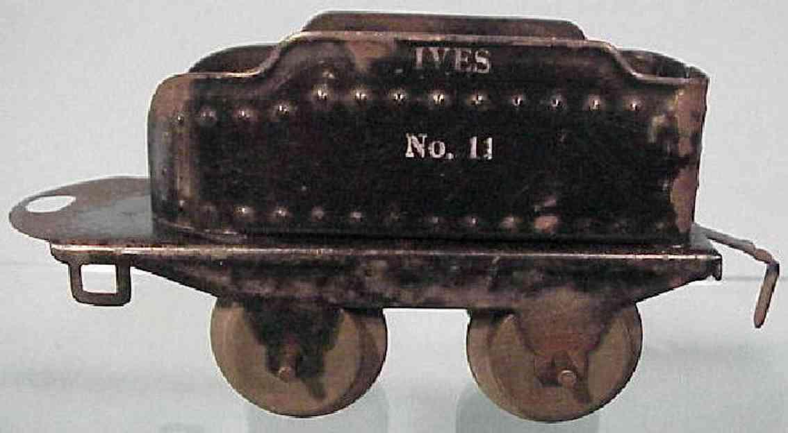 ives 11 spielzeug eisenbahn tender schwarz spur 0