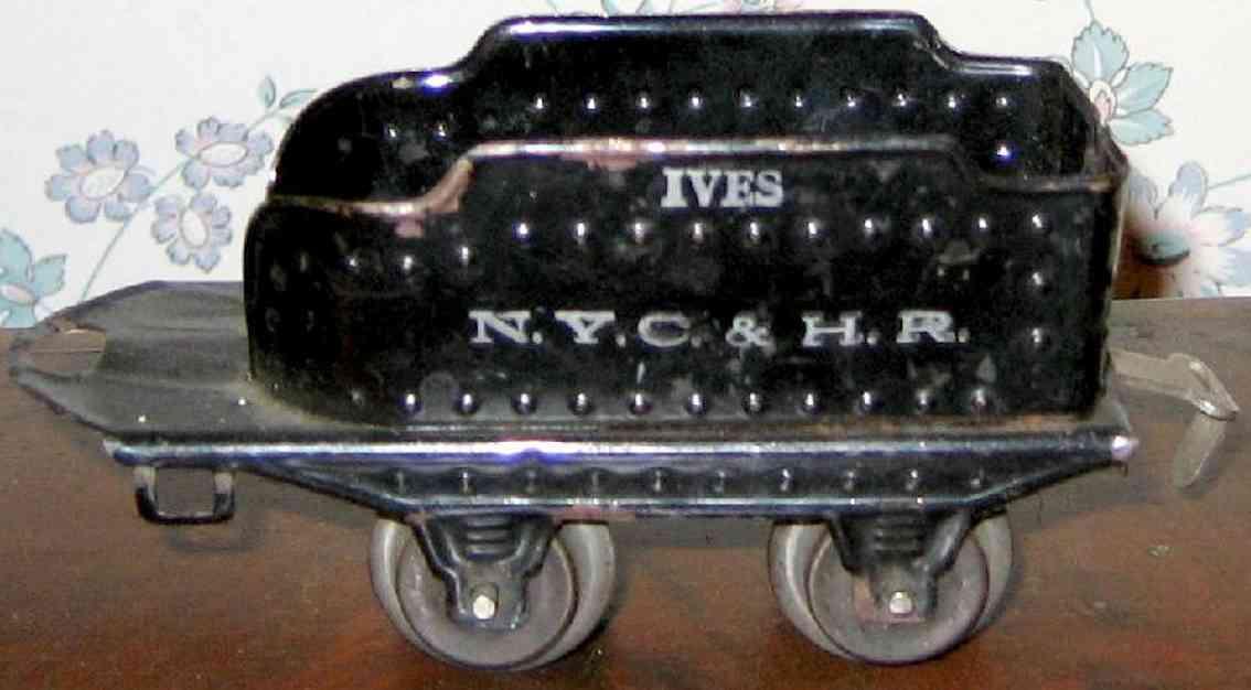 ives 11 1921 spielzeug eisenbahn tender 2-achsig schwarz spur 0