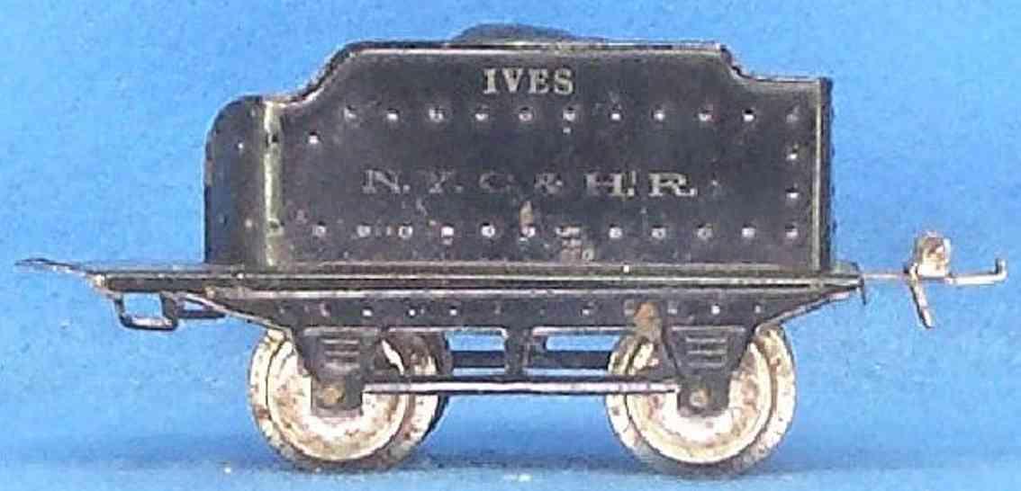 ives 17 1925 spielzeug eisenbahn tender weisse aufschrift spur 0 nyc&hr