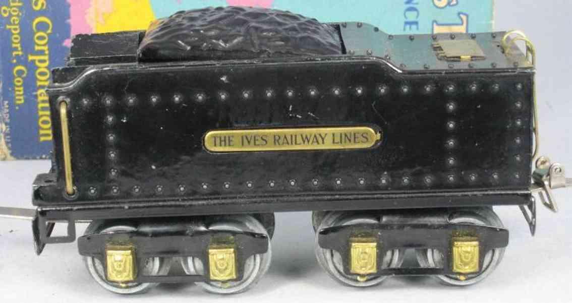 ives 25 1929 spielzeug eisenbahn tender messingschilder spur 0