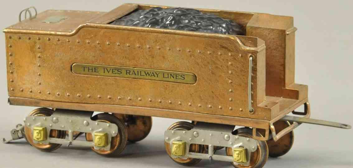 ives spielzeug eisenbahn spezial tender standard gauge
