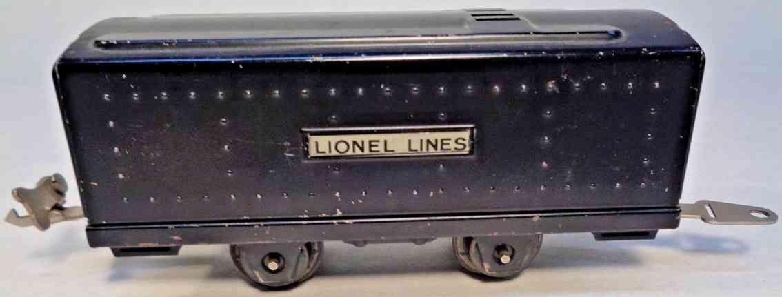 lionel 1588t spielzeug eisenbahn tender schwarz spur 0