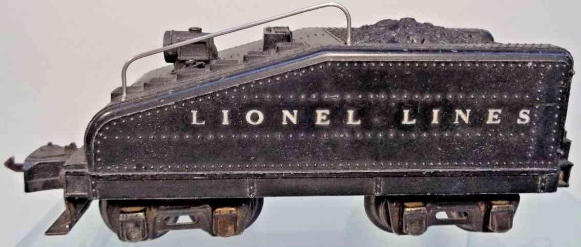 lionel 2201T spielzeug eisenbahn steigungstender schwarz spur 0