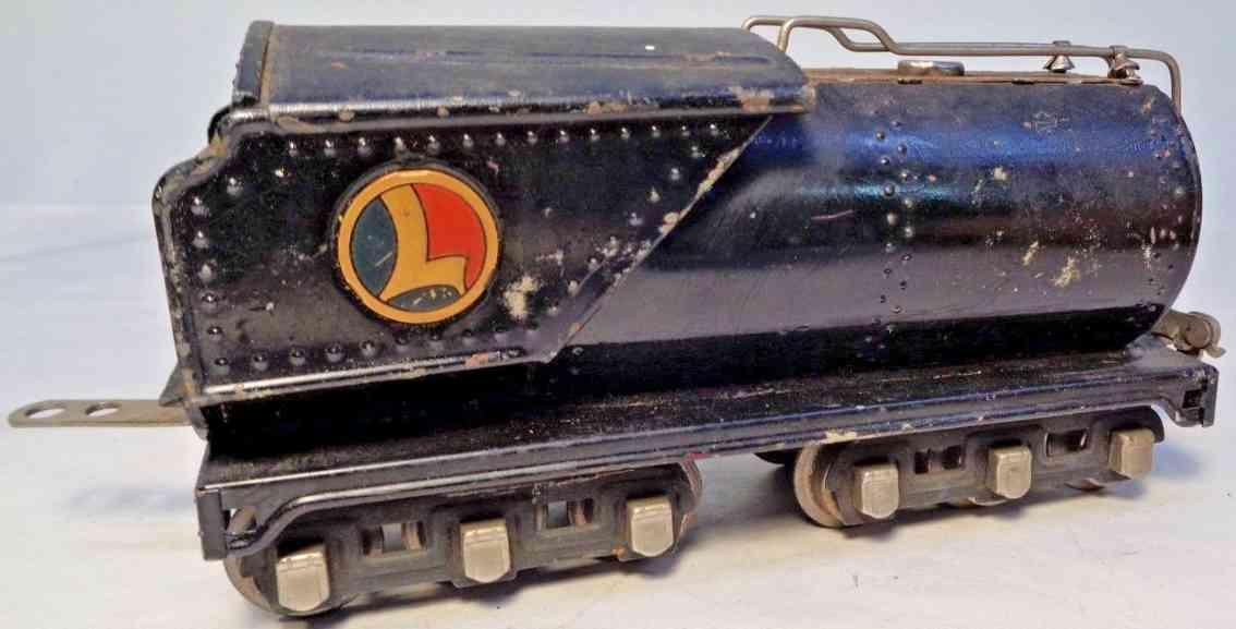 lionel 263wx spielzeug eisenbahn vandebilt oeltender grau spur 0