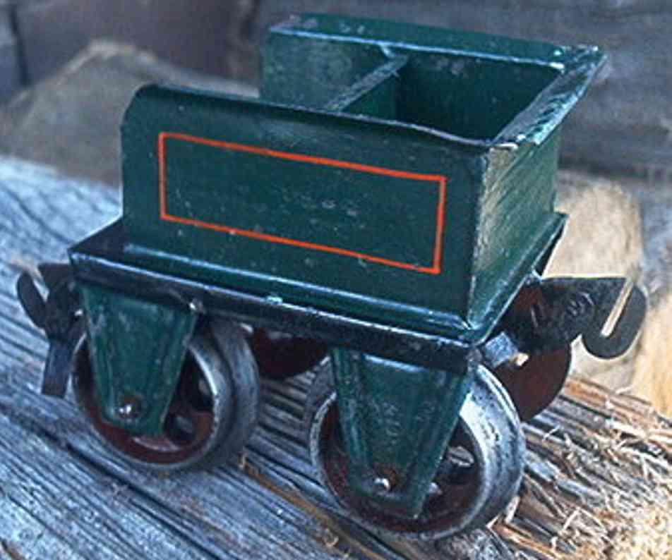 maerklin 1021 spielzeug eisenbahn tender erster tender handlackiert von märklin passend zur ersten mä