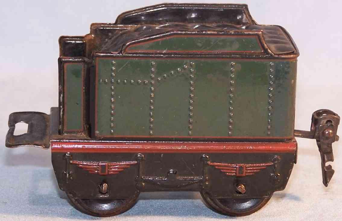 marklin 889/0 railway toy tender gauge 0