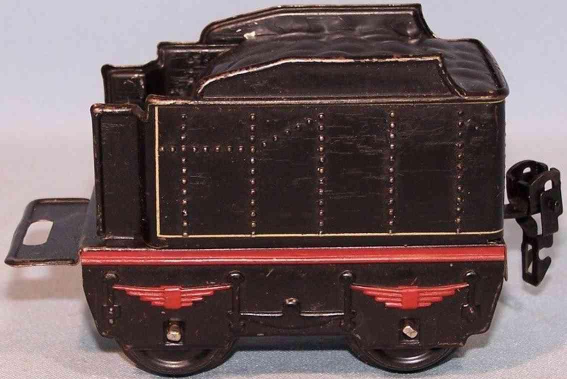 maerklin 899/0 spielzeug eisenbahn tender schwarz spur 0
