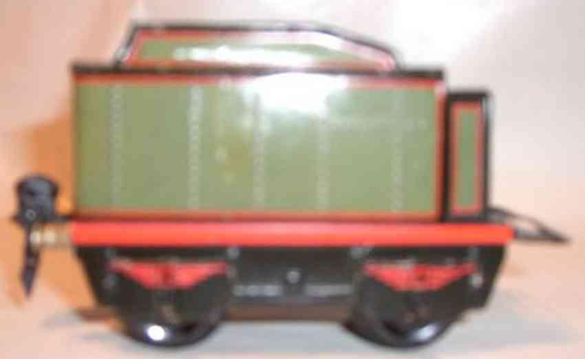 marklin 909/0 railway toy tender olive