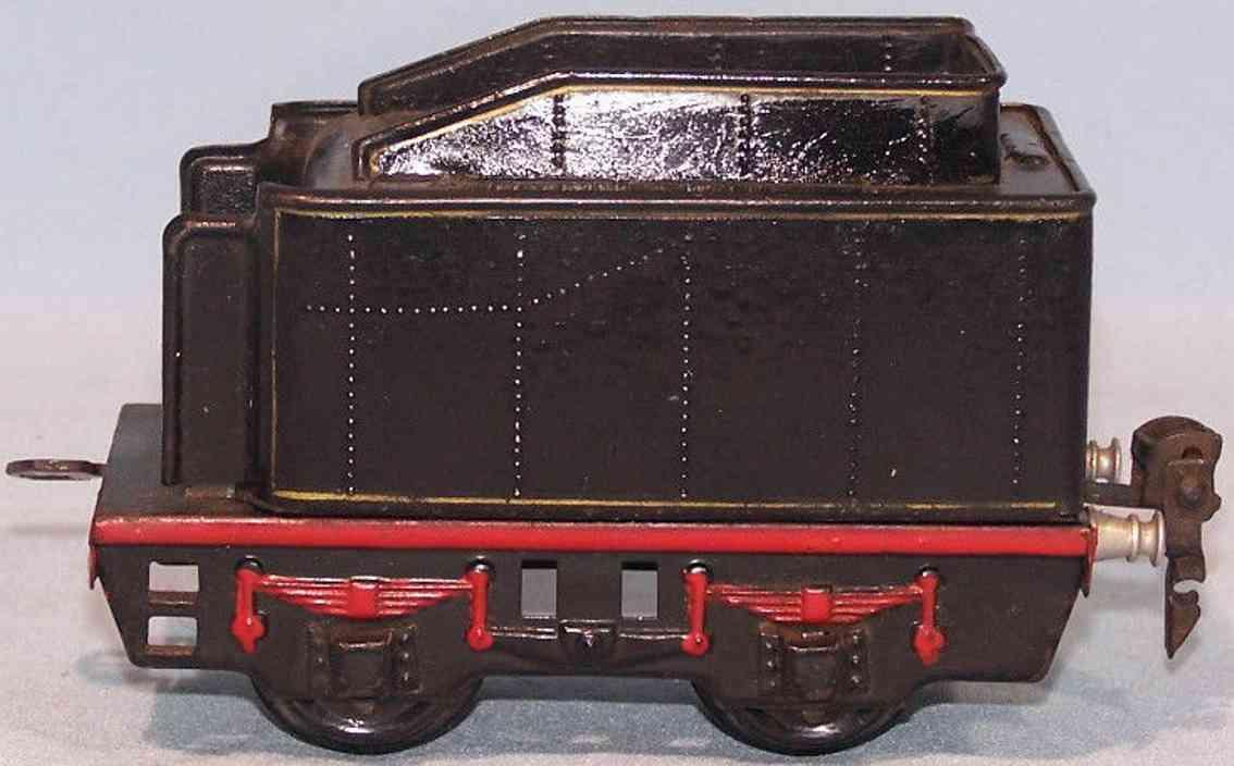 maerklin 929/0 spielzeug eisenbahn tender 2-achsig gauge 0