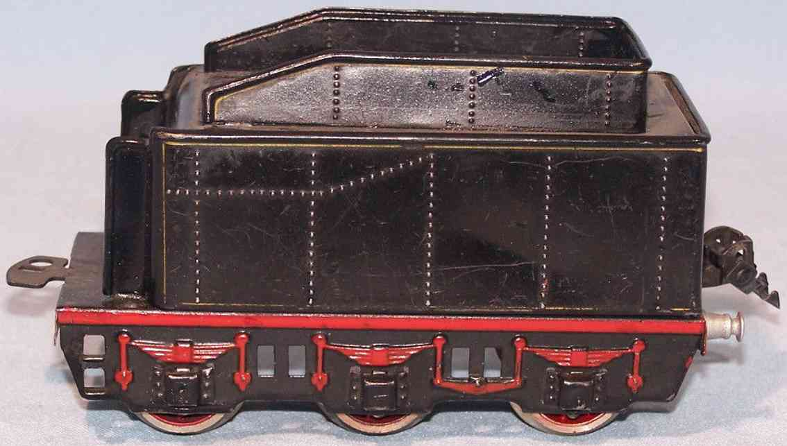 marklin E 66 railway toy tender 6 wheels gauge 0